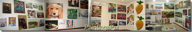 Inside view of PaintingsPal Studio 1