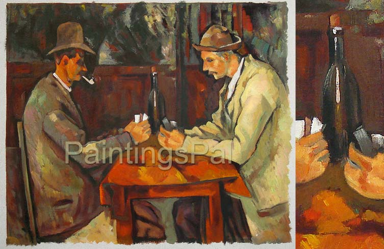 Oil Painting Reproduction Samples Price Guide For Commission Page - Who painted the card players